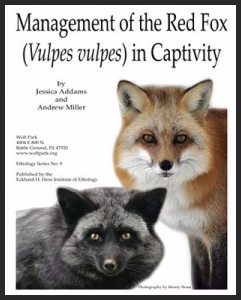 Management of the Red Fox in Captivity